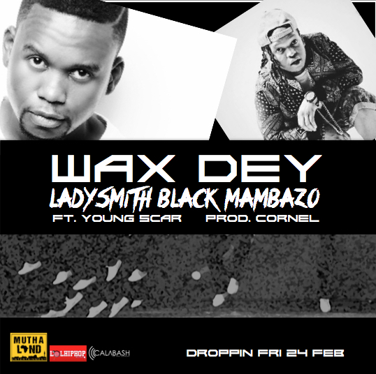 WAX DEY FT YOUNG SCAR COVER