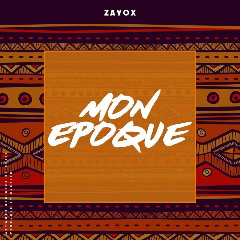 ZAYOX MON ÉPOQUE COVER
