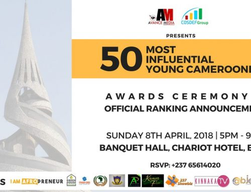 2017 50 Most Influential Young Cameroonians to be honoured