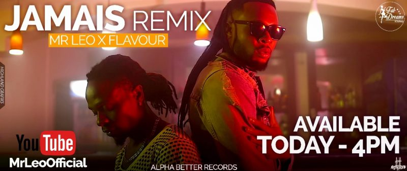 Mr LEo ft Flavour Jamais Jamais remix.jpg