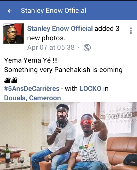 LOCKO FEAT STANLEY ENOW