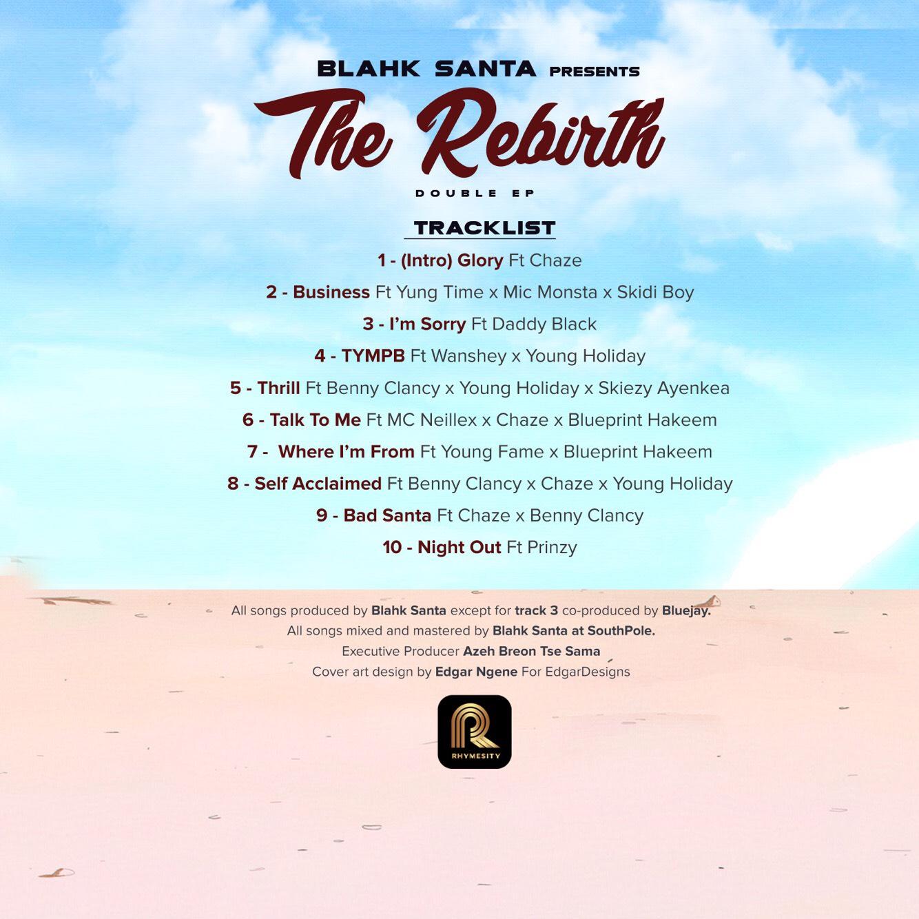 Blahk Santa - The Rebirth EP