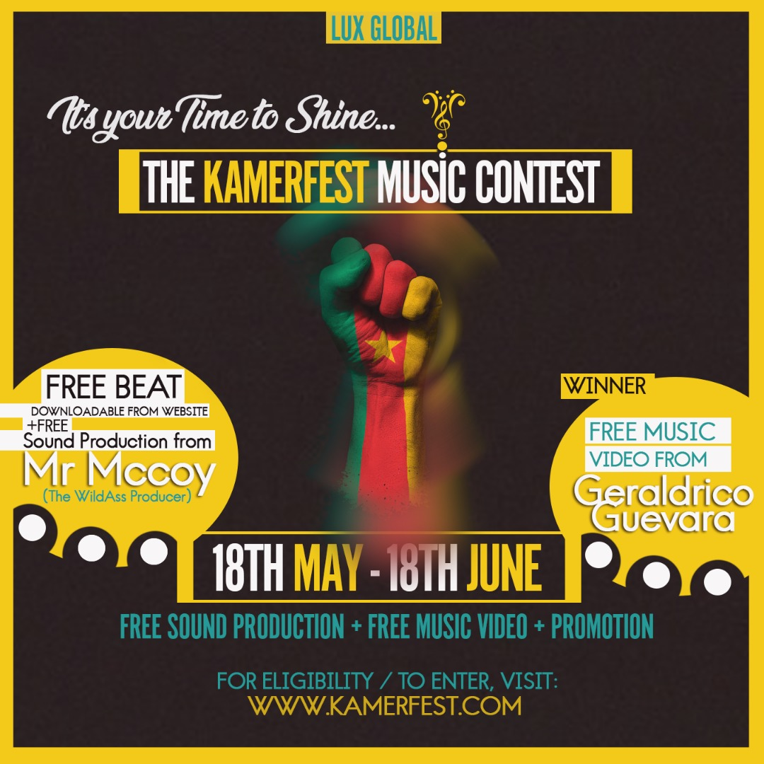 KamerFest Music Contest Kicks Off! How To Participate & Win