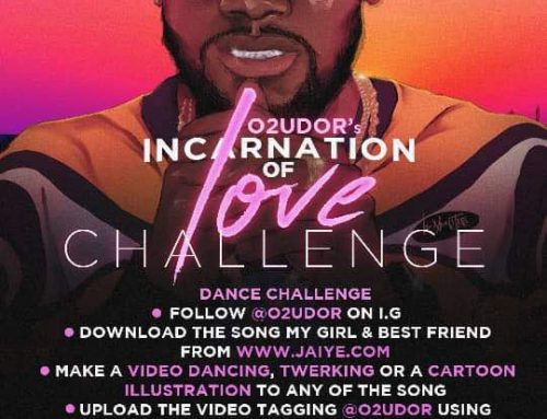 Participate & Win $2600 For O2UDOR Incarnation Of Love EP Challenge!
