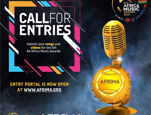 Call for Entries for the Afrima 2018  !! Submit now