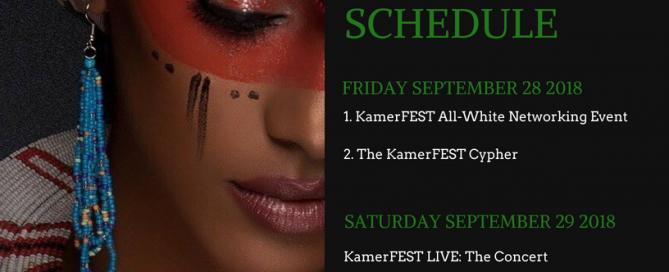KamerFEST Schedule