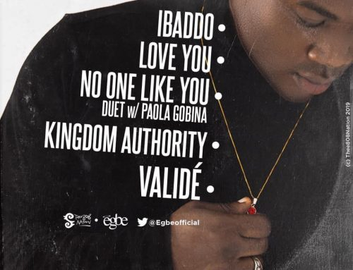 Video + Download : EGBE – Validé (Prod. by EGBE)