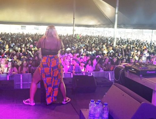 Cameroonian MC/Host Charlene Shuts Down Europe's Biggest Stage In One Night!