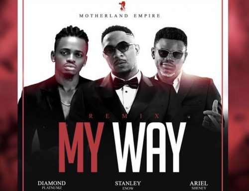Video + Download: Stanley Enow X Diamond Platnumz X Ariel Sheney – My Way Remix (Prod By Softtouch)