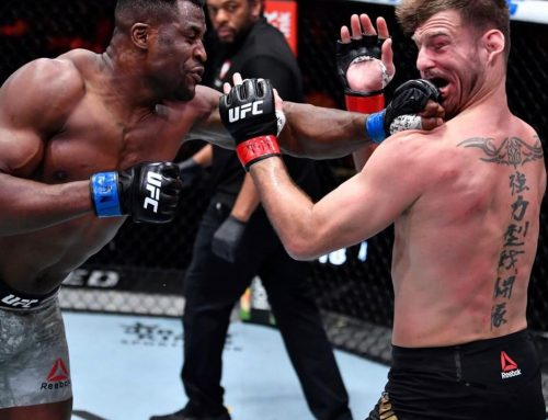 Francis N'Gannou Knocks Out Stipe Miocic To Secure The Heavyweight Title in UFC 260 Main Event – 237Showbiz
