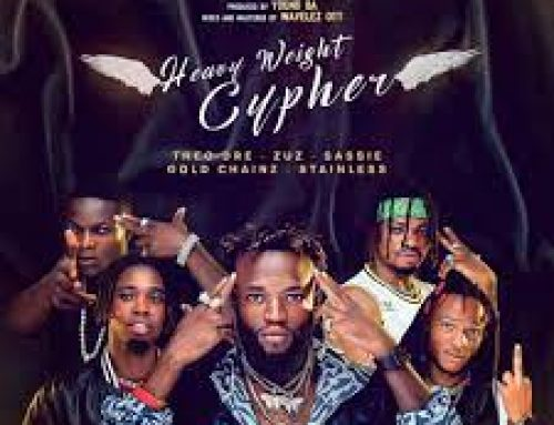 Video + Download: Theo Dre – Heavyweight Cypher ft. Zuz Sassie ,Stainless ,Gold chainz (Directed by Na Goddy Pro Shootam)