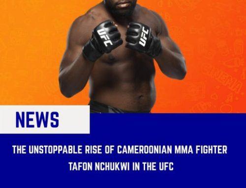 The Unstoppable Rise of Tafon Nchukwi (UFC fI