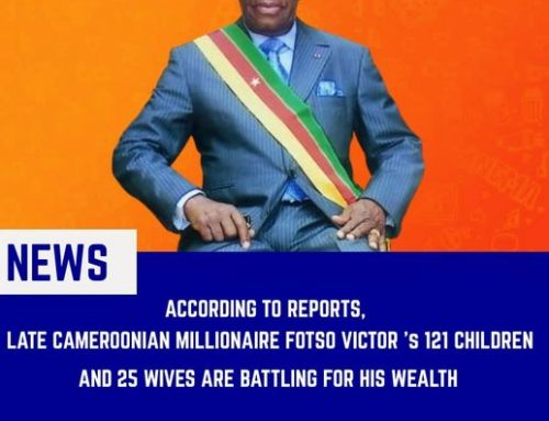Cameroonian Millionaire Fotso Victor's Alledgly Family Fight for his Wealth